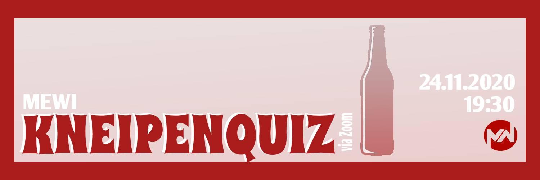 Kneipenquiz Banner
